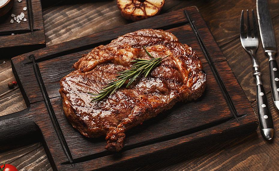 De perfecte rib eye steak