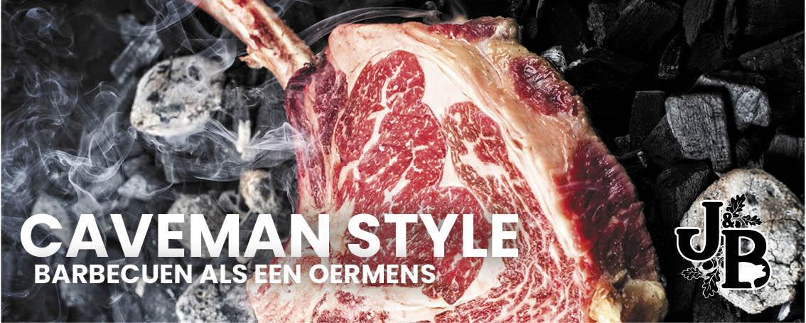 Caveman style - barbecuen als een oermens