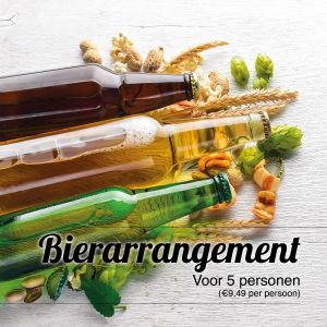 Bier arrangement Jager&Boer