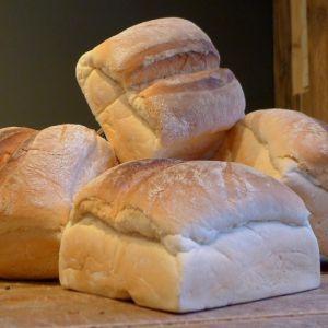 Busbrood wit - heel gesneden