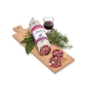 Falorni salami met Vino Chianti