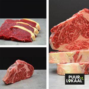 Premium Dry Aged Vleespakket - 2800 gram!