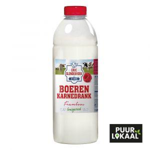 Boeren karnedrank framboos - 1 liter