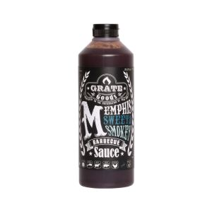 Memphis sweet and smokey barbecue saus Grate goods