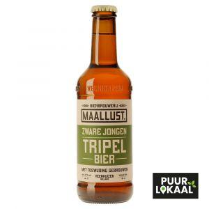Zware jongen Maallust Tripel bier