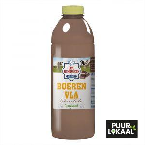 Boeren Vla Chocolade van Erve Slendebroek uit Zwolle