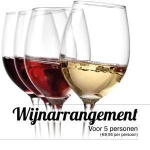 Wijn arrangement Jager&Boer