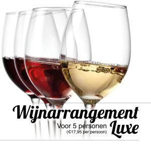 Luxe wijn arrangement